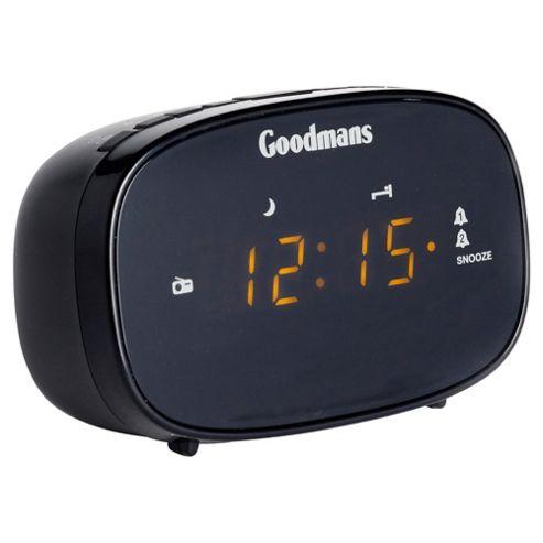Goodmans GCR02 Clock Radio