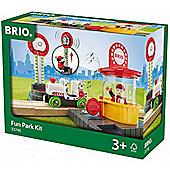 Brio 33740 Fun Park Kit Set