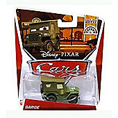 Disney Cars Wheel Well Motel Die Cast Sarge #2/11