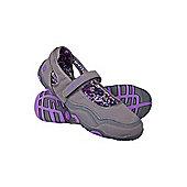Magda Womens Walking Camping Travelling Shoe - Purple