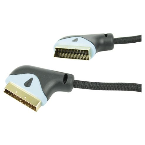 buy technika scart lead 2m from our computer cables power supply range tesco. Black Bedroom Furniture Sets. Home Design Ideas