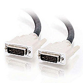 Cables to Go 2m Dual Link Digital/Analogue Video Cable Black/White