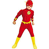 Rubie's Fancy Dress - DELUXE The Flash Child Costume - UK Size Large 8-10 Years