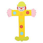 Tatiri TA420 Crazy Clown Wooden Letter T