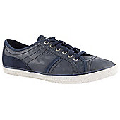 Esprit Ladies Megan Lace up Navy Casual Trainers