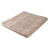 Tesco Hygro Cotton Extra Large Bath Sheet Taupe