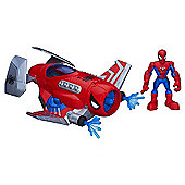 Playskool Super Hero Adventures - Spider Strike Plane