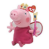 "Peppa Pig Princess Peppa Beanie Baby, plush toys (Approximately 6"" tall)"