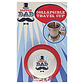Dapper Dad Collapsible Shot Glass