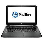 HP Pavilion 15-p251na 15.6-inch Laptop, AMD A10, 12GB RAM, 2TB HDD - Silver