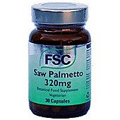 Fsc Saw Palmetto 320mg Vegetarian 30 Capsules