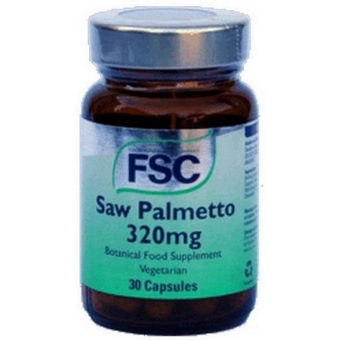 Fsc Saw Palmetto 320mg Vegetarian 30 Capsules