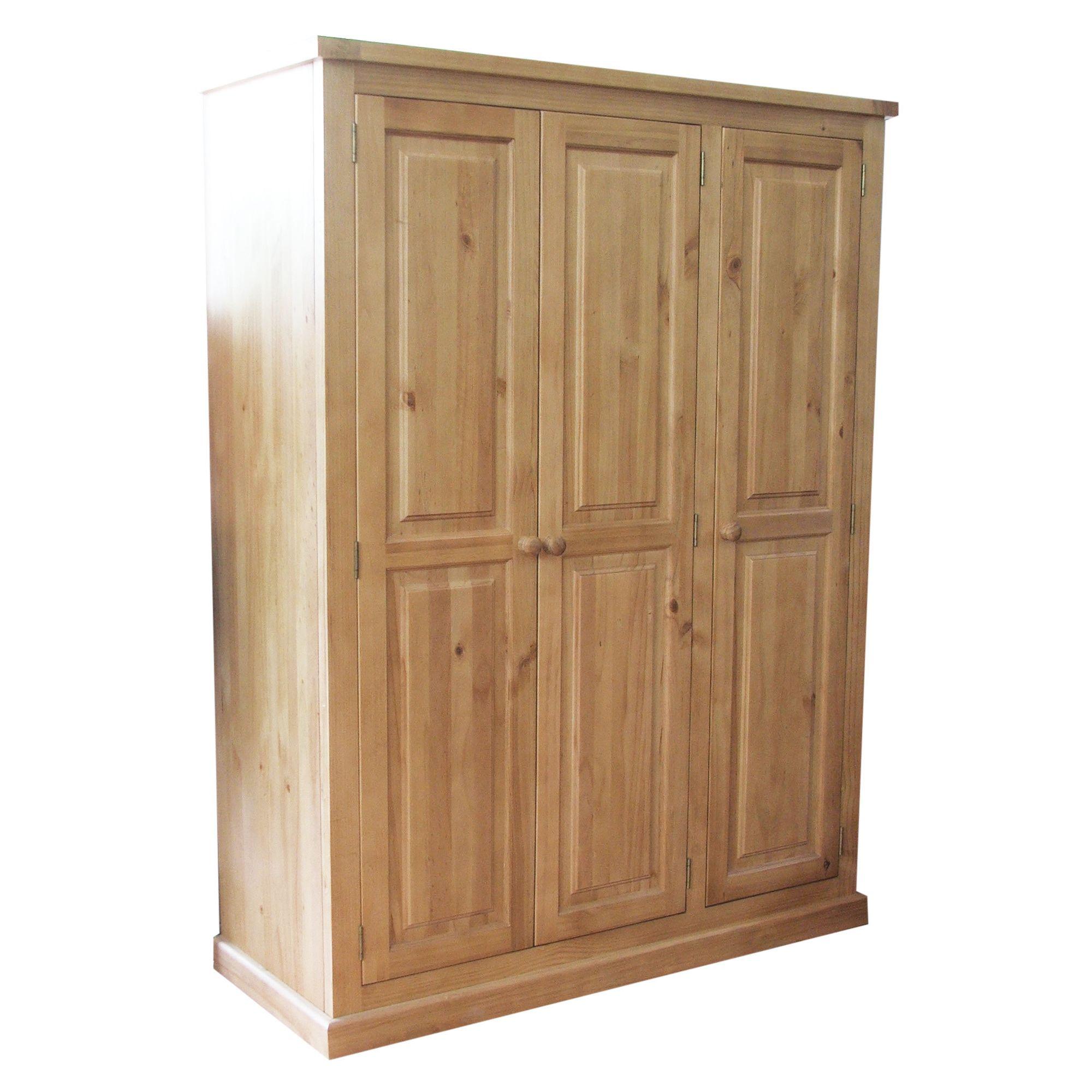 Thorndon Kempton Bedroom 3 Door Wardrobe in Pine at Tesco Direct