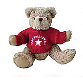 Star Bridesmaid Wedding Bear with Red Sweater