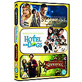 Stardust / Hotel for Dogs / The Spiderwick Chronicles (DVD Boxset)