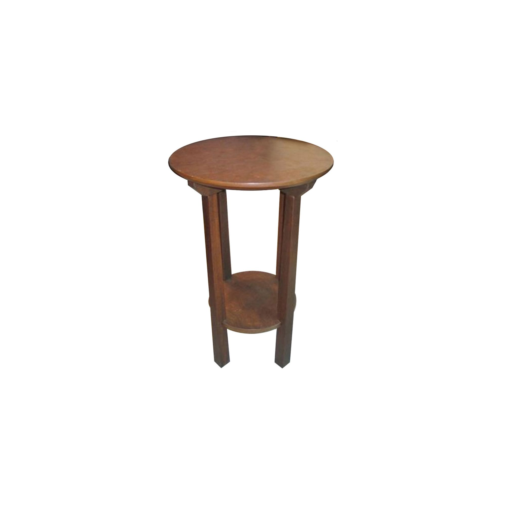 Techstyle Solid Wood Round End / Telephone Table