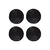 Linea Black Halo Coaster Set Of 4