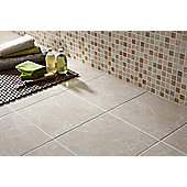 Elgin Cappucino Beige Pressed Mosaic Ceramic Tile 248x398mm Box of 10  (0.99 M² / Box)