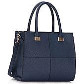 KCMODE Ladies Navy Fashion Tote Handbag