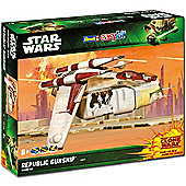 Revell Republic Gunship Star Wars 1:74 Easykit Aircraft Model Kit - 06687
