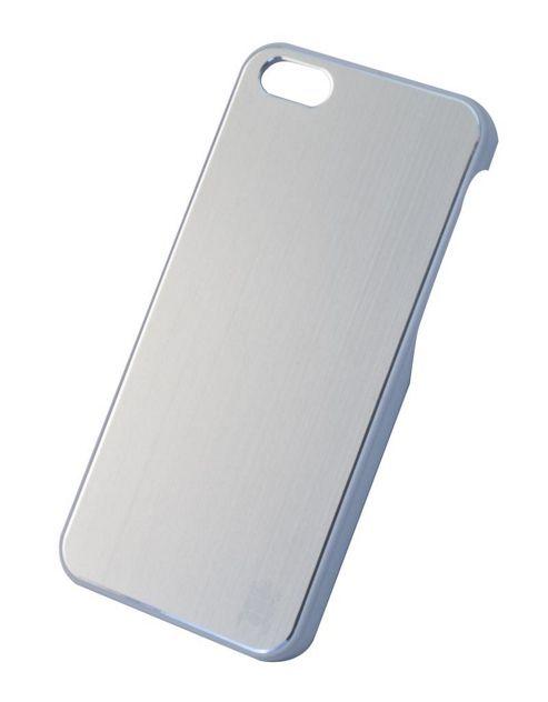 Tortoise™ Hard Case iPhone 5 Brushed Metal Silver