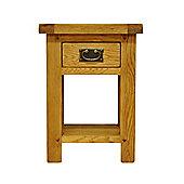 Ultimum Stamford STM-SIT Solid Oak Side Table