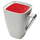 Wowthem Mighty Sound Mug Bluetooth Speaker White/Red