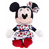 "10"" I Love Minnie Mouse in Rose Dress"