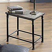 Urbane Designs Side Table - 53 cm H x 52 cm W x 44 cm D