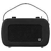 Kitsound Jive Retro DAB/FM Radio, Black