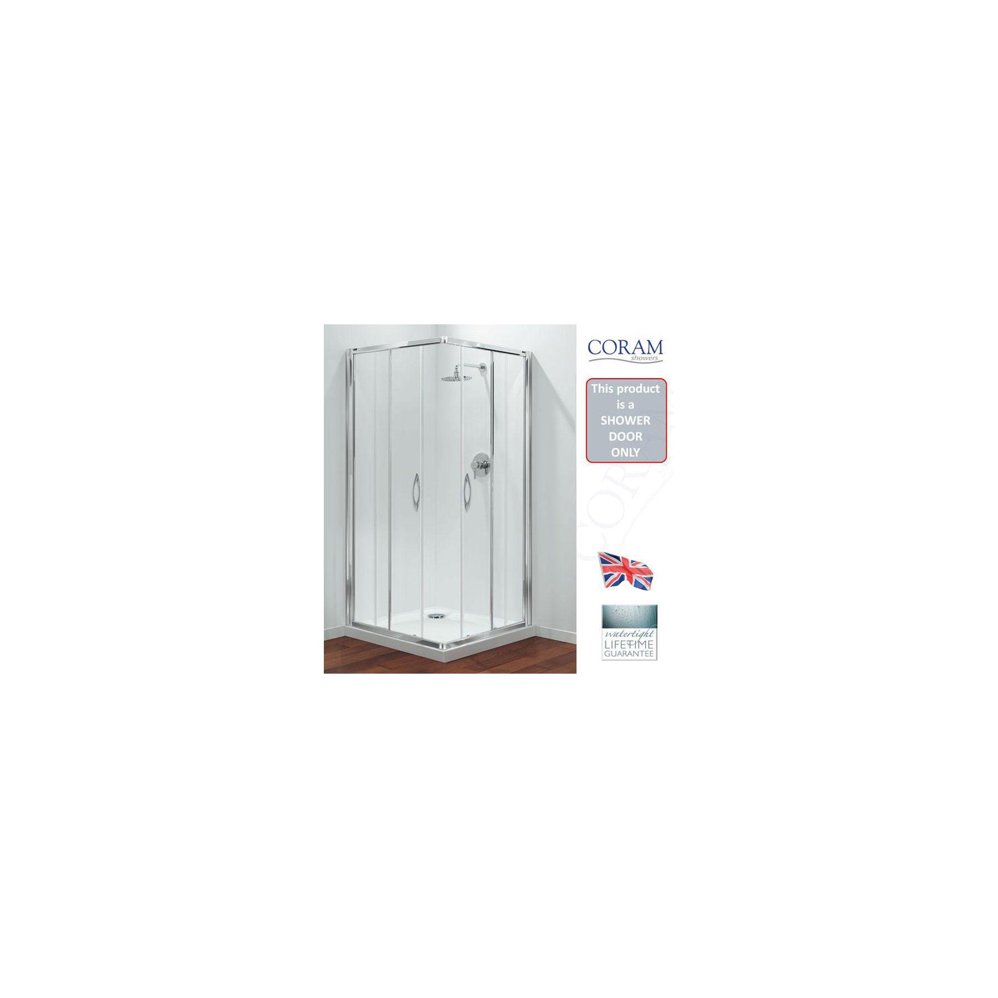 Coram Premier Corner Entry Frame and Door Pack Only 900mm at Tesco Direct