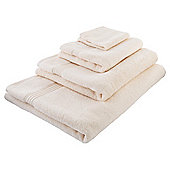 Tesco Hygro 100% Cotton  Towel, - Cream
