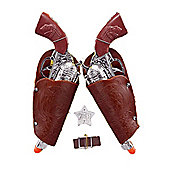 Bristol Novelty - Child's Toy Cowboy Gun & Holster Set