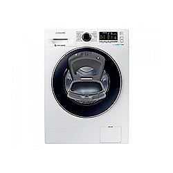 Samsung WW70K5410UW/EU, AddWash Washing Machine, 7kg Load, A+++ Energy Rating, 1400rpm Spin, White