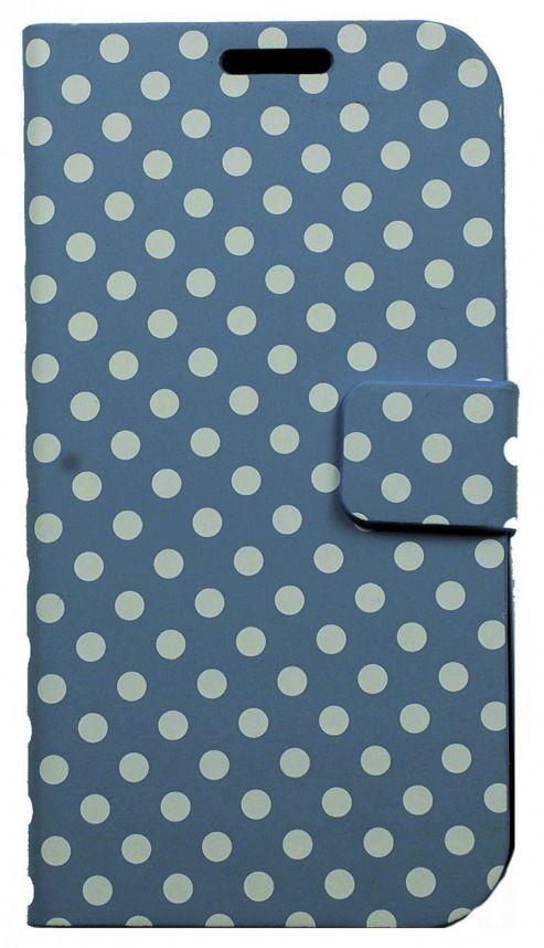 U-Bop FunPRO Horizontal Case (Polka Dot Blue) - Samsung Galaxy S4 i9500