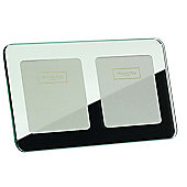Addison Ross Mirror Photo Frame Rounded Corners Double Frame