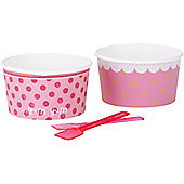 Pink n Mix Party Icecream Bowls