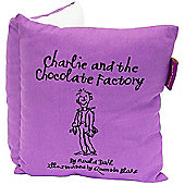Charlie and the Chocolate Factory Book Cushion