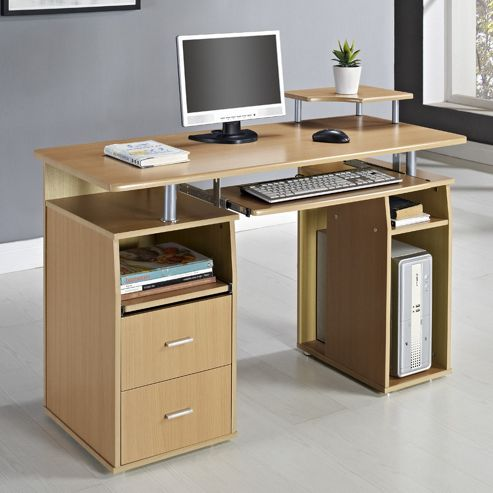 Aspect Design Computer Desk - Beach