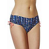 Curvy Kate Instinct Bikini Shorts - Blue