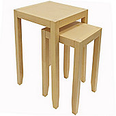 Anywhere - Solid Wood Nest Of Two Tables - Natural