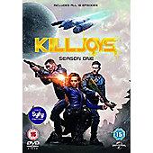 Killjoys season 1 DVD