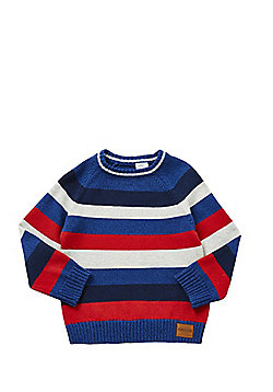 F&F Striped Crew Neck Jumper - Multi