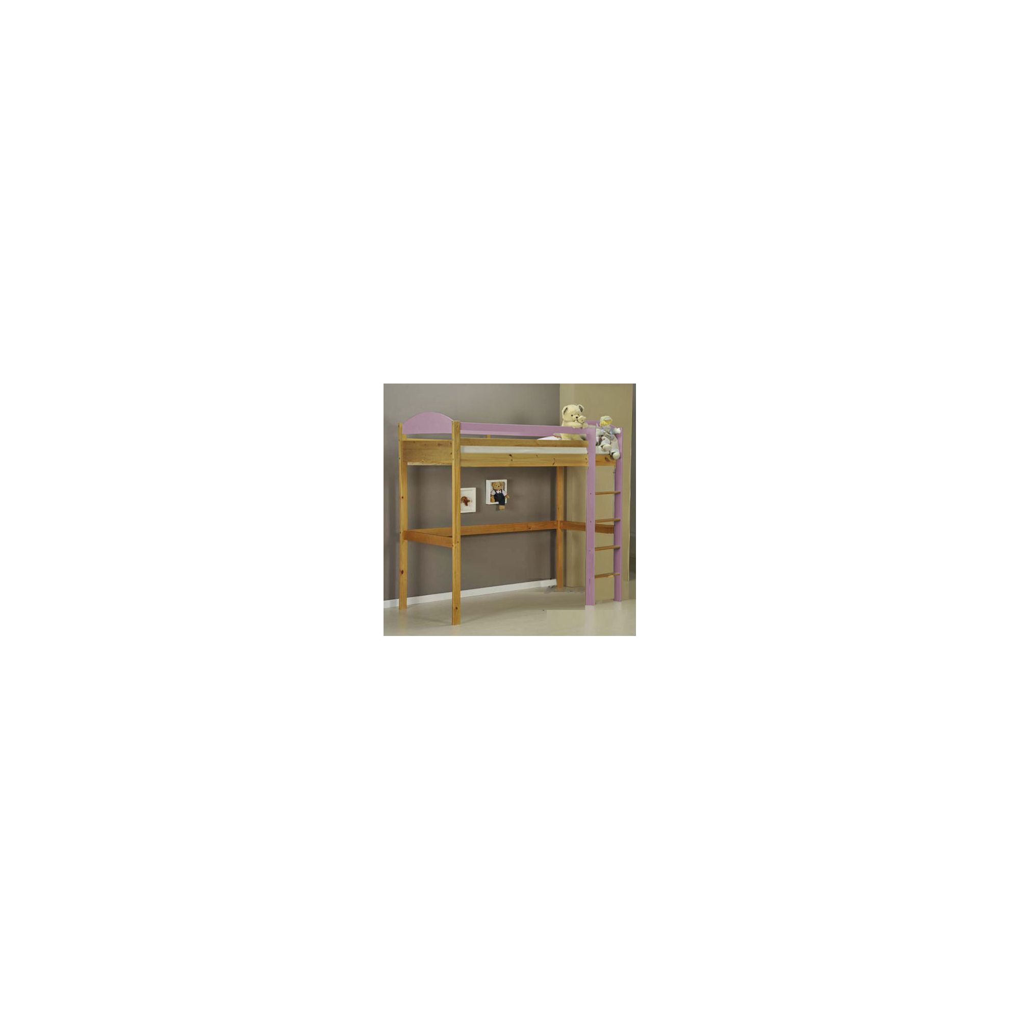 Verona Maximus Highsleeper Bed Frame - Pink at Tesco Direct