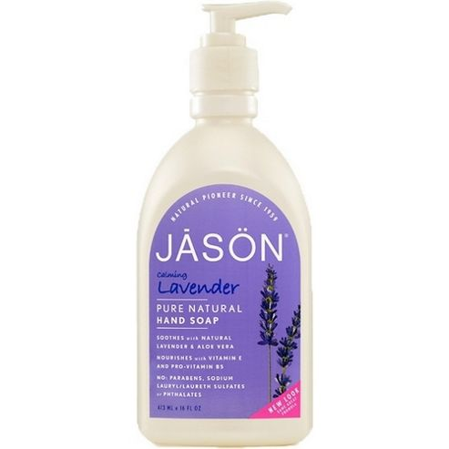 Lavender Satin Hand Soap Pump (480ml Liquid Soap)