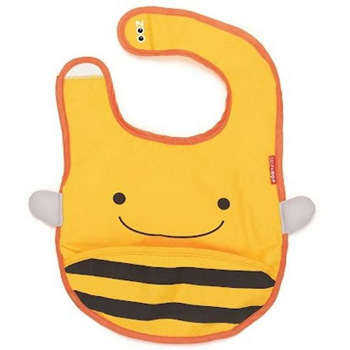 Skip Hop Zoo Tuck Away Bib Bee