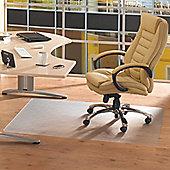 Floortex Advantagemat Cleartex Chair Mat for Use on Hard Floor - 115cm x 134cm