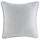 Textured Plain Cushion 43 x 43cm, Duck Egg