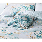 Catherine Lansfield Home designer collection Duckegg Flora Cushion Cover