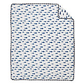Mothercare Whale Bay Fleece Blanket